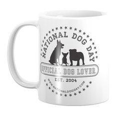 Society6 Official Dog Lover; National Dog Day Mug