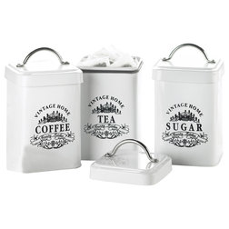 Traditional Kitchen Canisters And Jars by Global Amici
