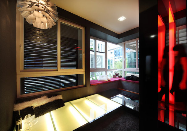 Contemporary Home Theater by The Interior Place (S) Pte Ltd