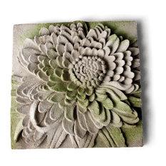 Chrysanthemum Wall Plaque