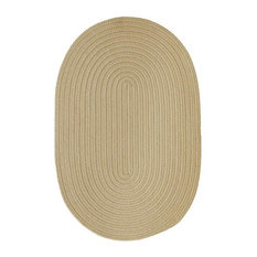 Colonial Mills, Inc - Colonial Mills Boca Raton BR12 Linen 9' x 12' Oval - Outdoor Rugs