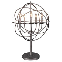 Rossana Table Lamp, Brown