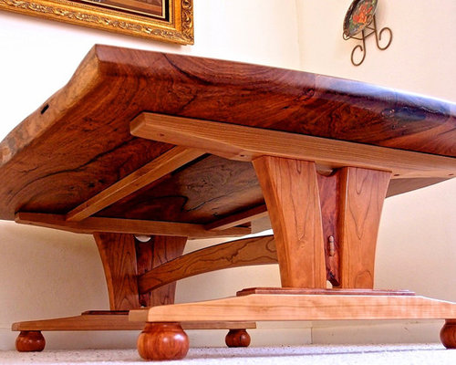 Live Edge Mesquite Coffee Table (Austin, TX) - Coffee And Accent Tables