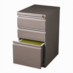 Hirsh Industries 3 Drawer Mobile File Cabinet in Charcoal - Contemporary - Filing Cabinets - by ...