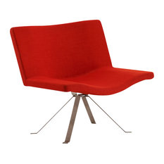 CEETS   Vivian Leisure Chair, Burnt Orange   Armchairs And Accent Chairs