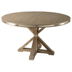 Transitional Dining Tables by Benzara, Woodland Imprts, The Urban Port