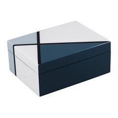 Lacquer Medium Box, Natural Deco