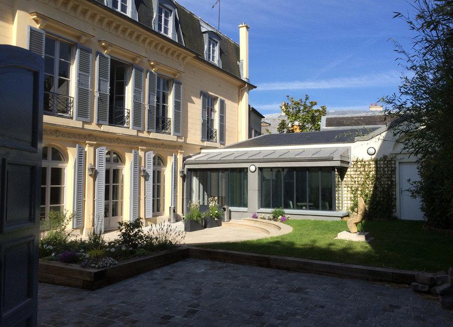 Extension d'un Hôtel particulier en rez-de-jardin