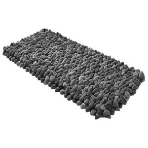 Pebble Rug, Grey, 120x180 cm