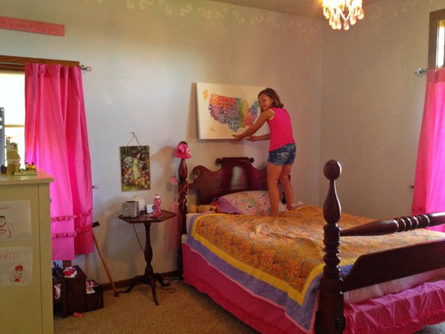 What Color Should I Paint The Walls Of My Daughteru0027s Bedroom?