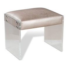 interlude home nori lizard stool vanity stools and benches