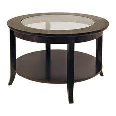 glass dolphin coffee table | houzz