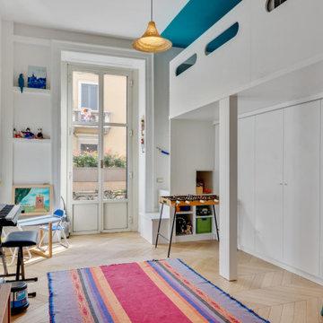 Una casa a colori