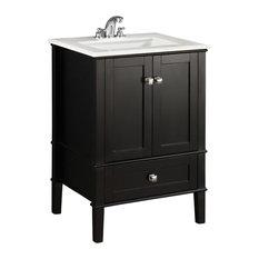 Simpli Home Ltd Sidney Vanity With Top 25 Bathroom Vanities And