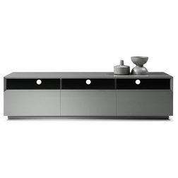 Contemporary Entertainment Centers And Tv Stands by BedTimeNYC