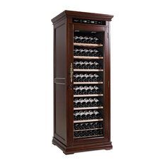 mQuvée Wine Cabinets - American Oak 160 Brown