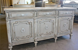Detailed French Credenza