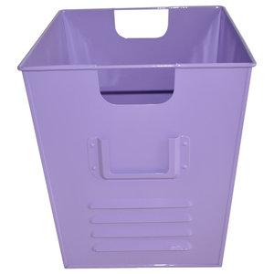 Small Oldschool Storage Bin, Light Purple