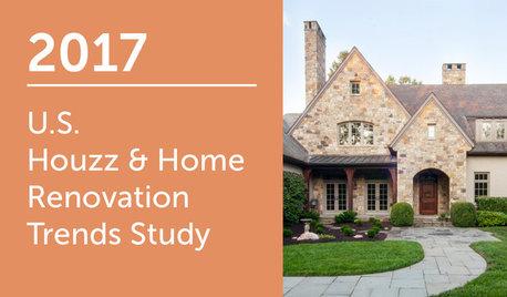 2017 U.S. Houzz & Home Study: Annual Renovation Trends