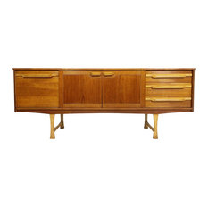 Consigned European Mid Century Modern Credenza/Media Console