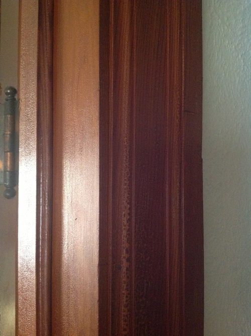 We Would Really Like To Keep Our Doors And Trim Could Use Some Ideas On How Go About Refinishing Them
