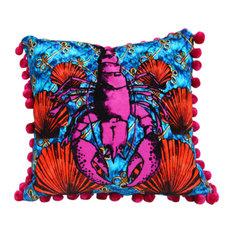 Lavish Lobster Cushion
