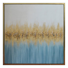 Art Painting, Gold/Blue