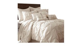 Ella 8-Piece Comforter Set - Bed in a Bag, Sand, King