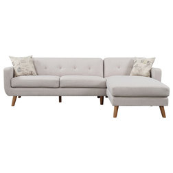 Midcentury Sectional Sofas by Emerald Home
