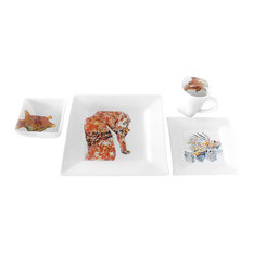 Bubba's Seahorse 4 Piece Place Setting