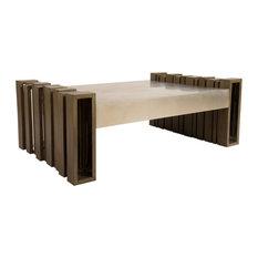 Barcode Coffee Table Mahogany