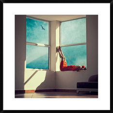 """""""Room With A View"""" Artwork, 28""""x28"""""""