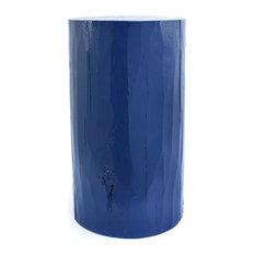 "Pintado Log Table, Blueberry | Benjamin Moore Natura® Paint - 2063-30, 12"" Dia X"