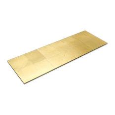 """Requiem Gold 10""""x30"""" Glass Wall Tile"""