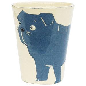 Pug Animal Cups, Set of 2