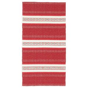 Astor Vinyl Floor Cloth, Red, 150x240 cm