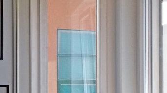 La nuova finestra ad angolo con il dettaglio del pulsante per comandare la tappa
