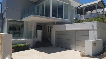 Custom Garage Door for Modern Home in Perth