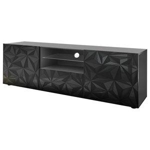 Prisma Decorative TV Unit, 181 cm, Grey