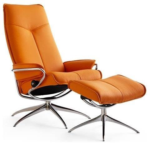 fauteuil de relaxation en cuir. Black Bedroom Furniture Sets. Home Design Ideas