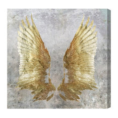 """Oliver Gal """"My Golden Wings"""" Canvas Art, 30""""x30"""""""