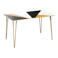 Brixton Hairpin Dining Table - Glamorous Geometry