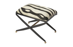 Butler Liddy Hair On Hide Stool