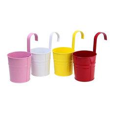 - Justnile fioriere sospese pot - Set da 4 in colori assortiti - Vasi e fioriere per esterni