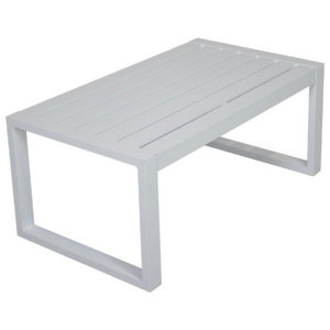 Outdoor Munich Coffee Table, White
