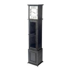 Mercana Enduring Elegance Floor Clock, Black