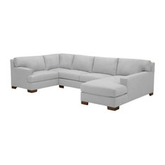 apt2b bradbury 3pc sectional stone chaise on left sectional sofas big boys furniture