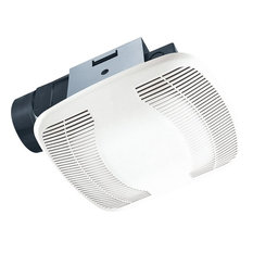 Air King Exhaust Fan with 100 CFM PC/ABS Polymeric Housing in White