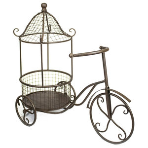 Scandinavian Penny Farthing Bicycle Planter Transitional Indoor