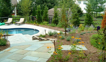 Patio Pool, Fireplace, Flower Beds